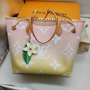 Louis Vuitton By The Pool Giant Pink Neverfull